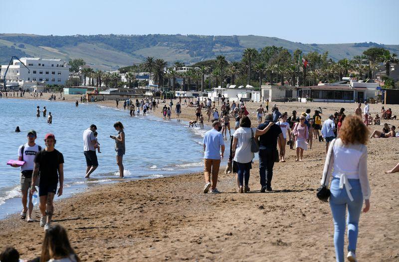 © Reuters. Coronavirus disease (COVID-19) outbreak, in Santa Severa