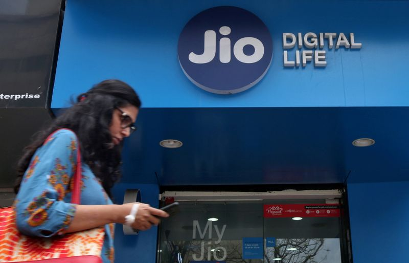 RELI India's Reliance launches JioMart online grocery service, challenging Amazon, Flipkart By Reuters