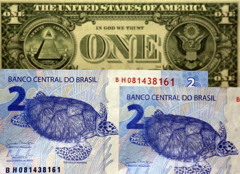 Dólar sobe ante real após 6 pregões consecutivos de perdas