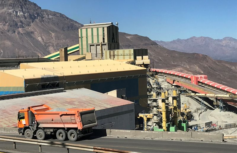 Pandemic saps union clout as talks loom with Chile copper miners