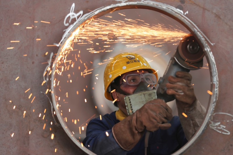 China's May factory activity returns to growth but demand remains weak: Caixin PMI