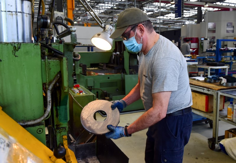Worst may be over for euro zone factories, recovery to be slow: PMI