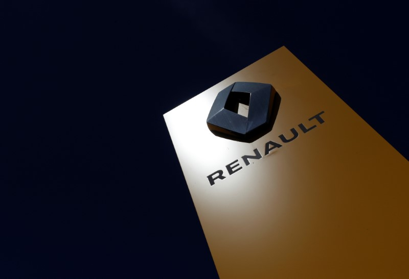 European shares rise on upbeat China data; Renault jumps