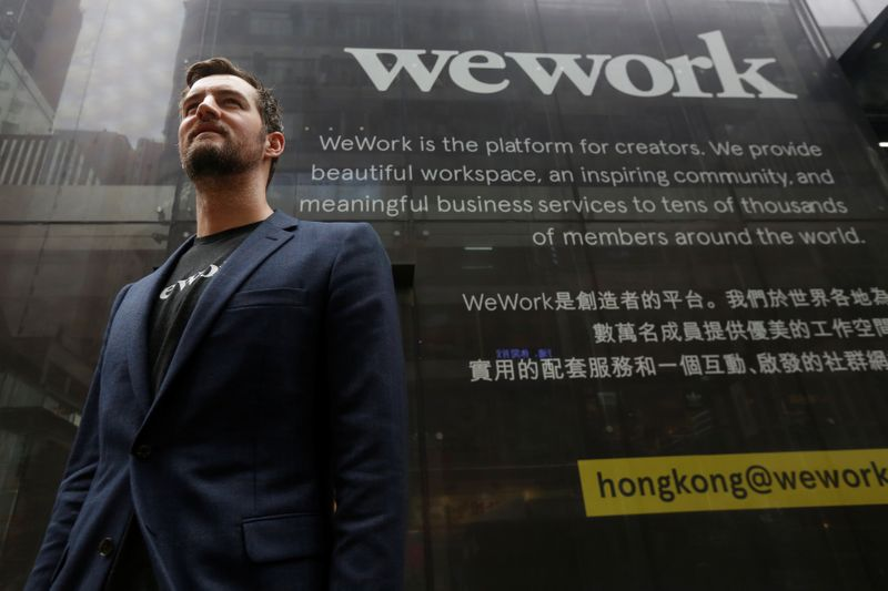 WeWork co-founder McKelvey to leave company by June end By Reuters