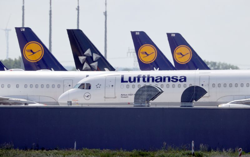 Lufthansa says up to 26,000 employees at risk of losing jobs