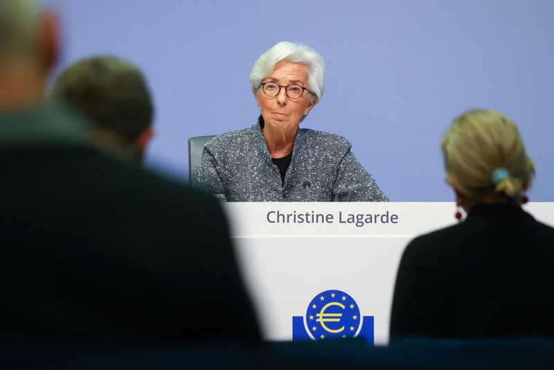 ECB's Lagarde urges quick EU recovery plan as economy in 'dramatic fall'