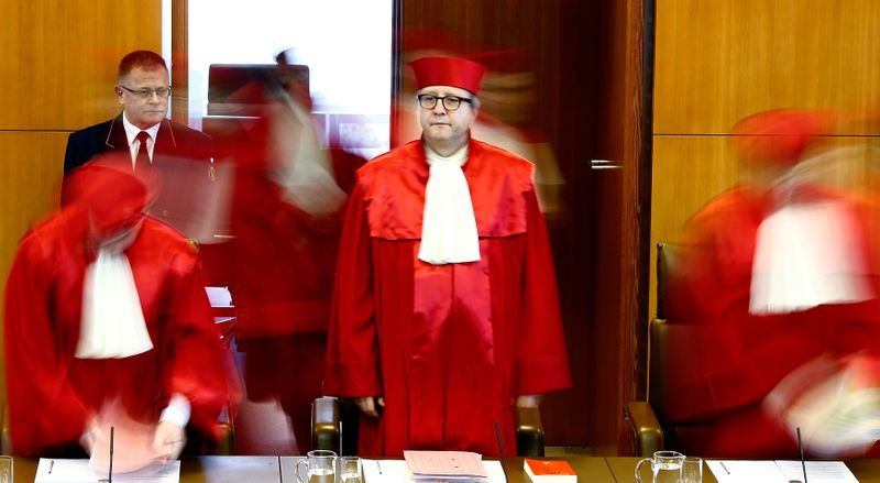 Changing of guard at top German court signals de-escalation for ECB