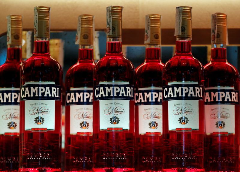 Italy's Campari says to complete move to Netherlands by July