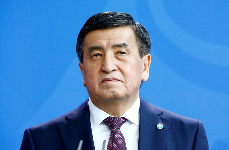 Kyrgyz leader misses Russian victory parade as aides contract COVID-19