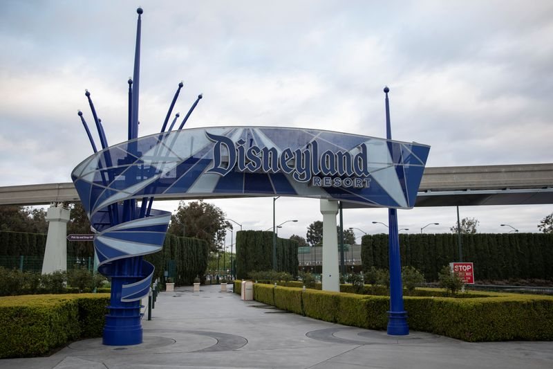 Disney shares drop as company delays reopening of California Disneyland