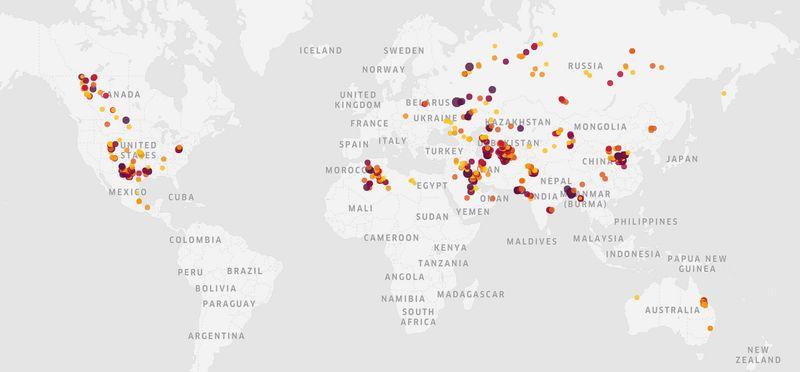 Satellites reveal major new gas industry methane leaks