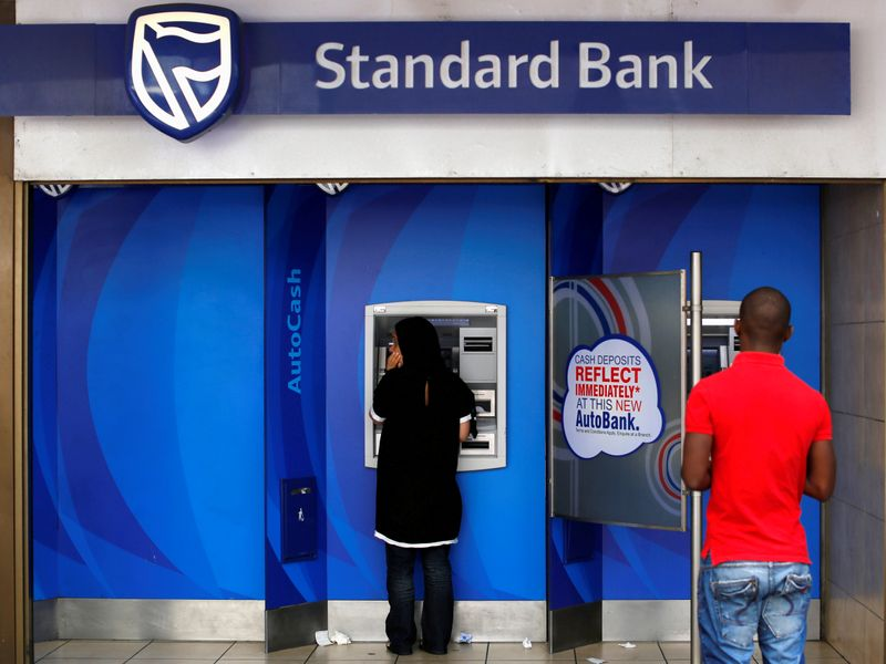 Climate activists turn up heat on Standard Bank during AGM