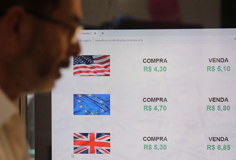 Dólar vira e passa a subir com mercado atento a coronavírus