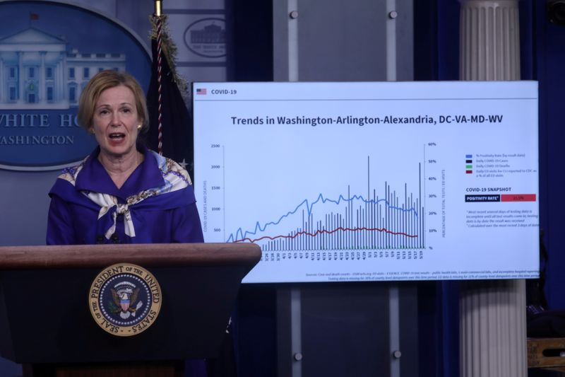 U.S. coronavirus 'extraordinarily widespread', say White House experts