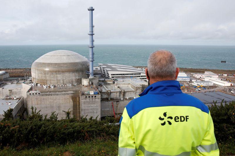 © Reuters. PLAINTE CONTRE EDF SUR DES