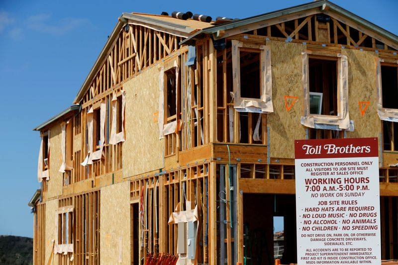 Toll Brothers profit falls about 22% as virus hits home prices