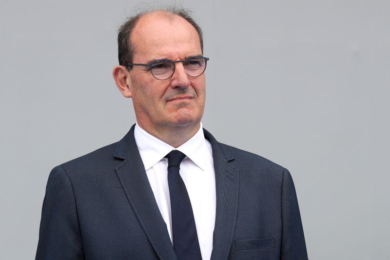© Reuters. FRANCE: CASTEX PROMET DES MOYENS SUPPLÉMENTAIRES POUR LA JUSTICE