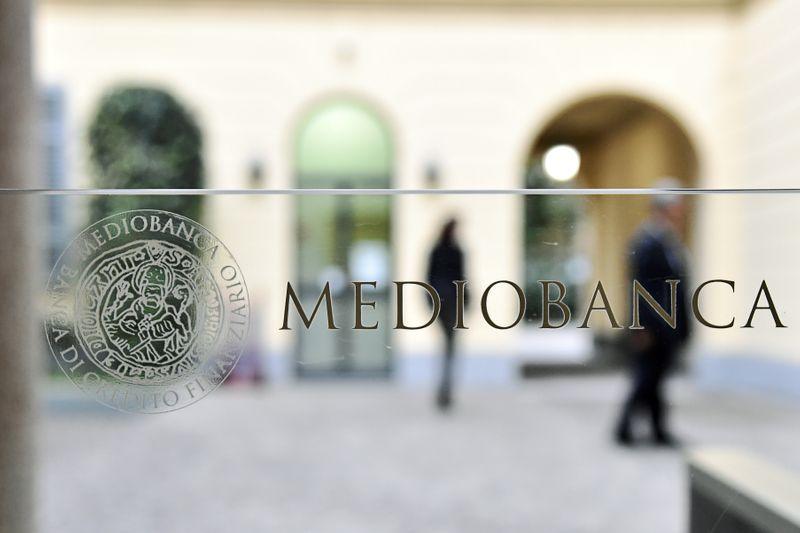 © Reuters. LA BCE AUTORISE DEL VECCHIO À MONTER AU CAPITAL DE MEDIOBANCA