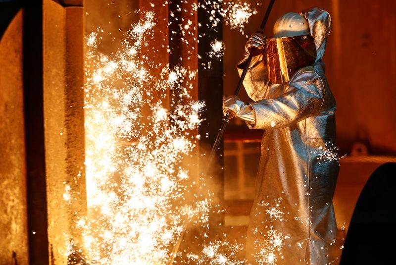 � Reuters. ThyssenKrupp steel factory in Duisburg