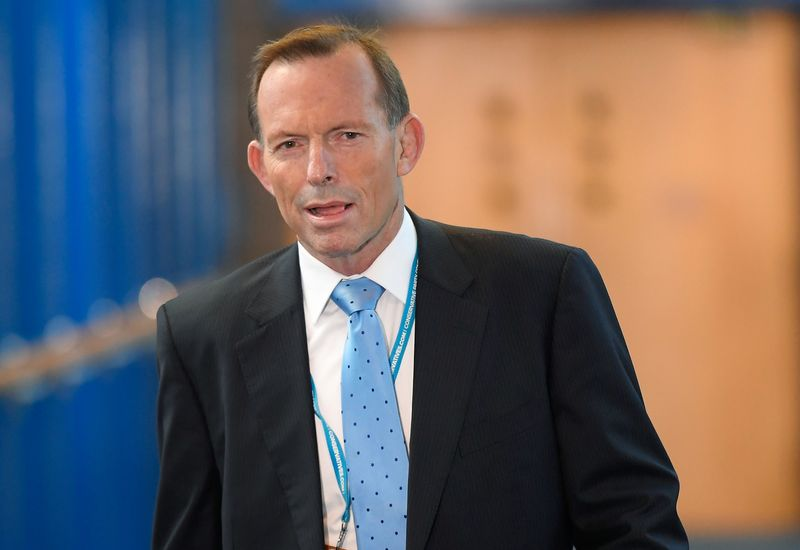 Australian ex-PM sets out free-trade credentials but coy on UK role