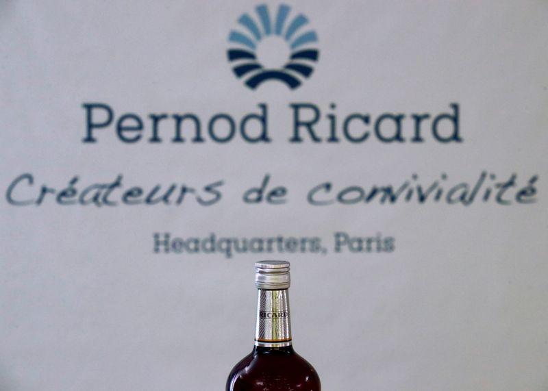 © Reuters. PERNOD RICARD PRUDENT APRÈS UN EXERCICE 2019-2020 IMPACTÉ PAR LE COVID-19