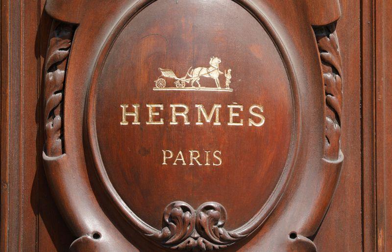 © Reuters. HERMÈS LANCE LA CONSTRUCTION D'UNE NOUVELLE MAROQUINERIE EN FRANCE