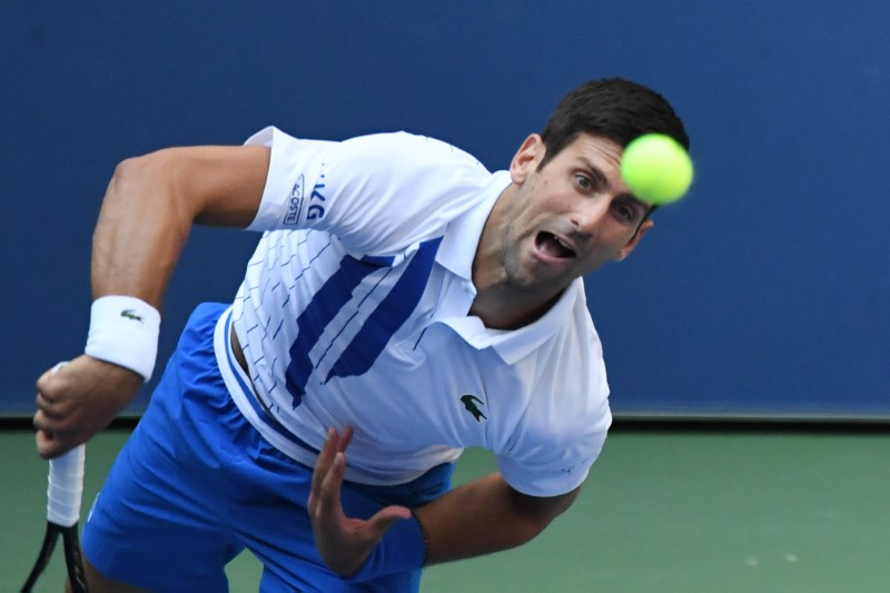 Djokovic Disqualified From U S Open After Striking Line Judge With Ball By Reuters The Union Journal