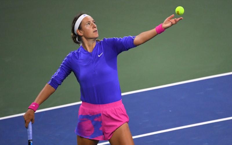 Azarenka into US Open quarterfinal