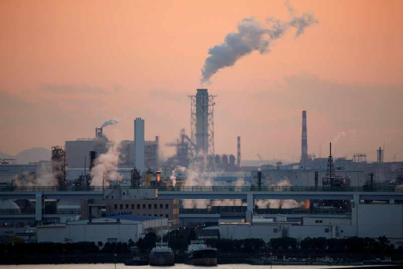 © Reuters. LES MULTINATIONALES À L'ORIGINE DE PRESQUE UN CINQUIÈME DES ÉMISSIONS MONDIALES DE CO2, SELON UNE ÉTUDE