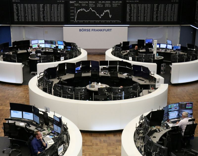 European equities sapped by Brexit fears, energy and tech stocks slide