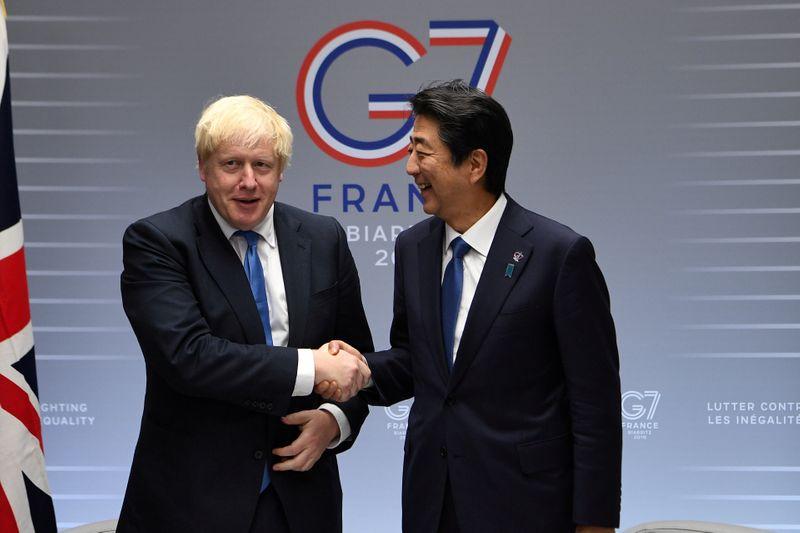 © Reuters. FILE PHOTO: G7 Summit in Biarritz