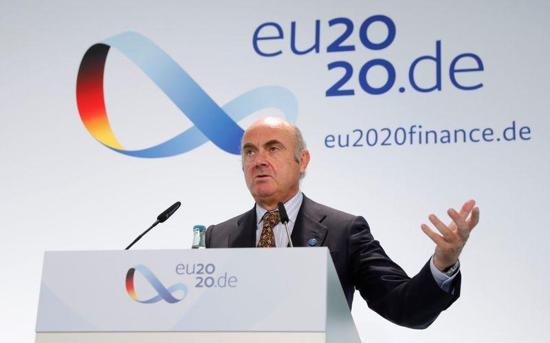 © Reuters. Los ministros de Economía y Finanzas de la UE celebran una reunión informal en Berlín