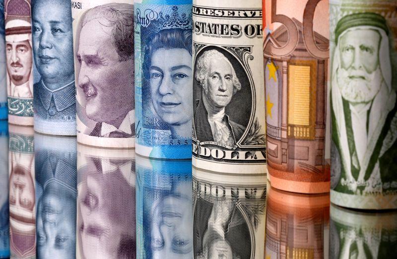 Pound dogged by Brexit worries, yen looks to Abe successor vote