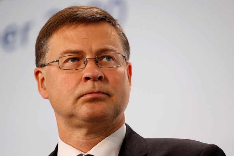 No U.S. mini trade deals in pipe after lobster pact: EU's Dombrovskis