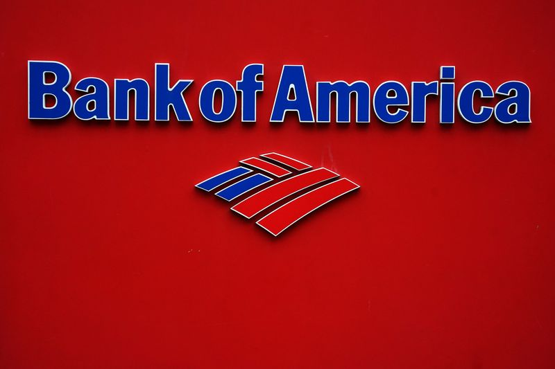 � Reuters. A Bank of America logo is pictured in the Manhattan borough of New York City
