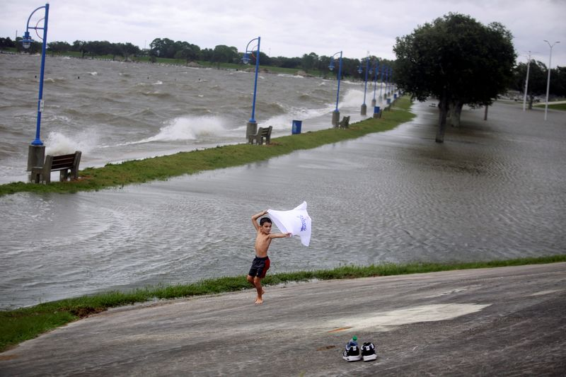 � Reuters. FILE PHOTO: Hurricane Sally impact in New Orleans