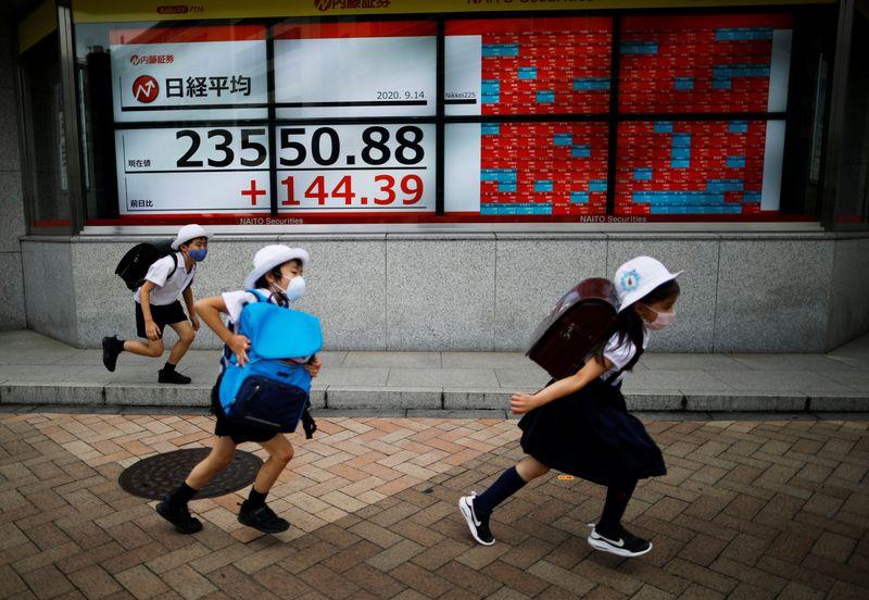 © Reuters. نيكي ينخفض 0.25% في بداية التعامل بطوكيو