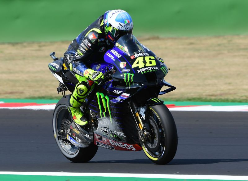 Rossi Staying In Motogp With Petronas Yamaha By Reuters The Union Journal