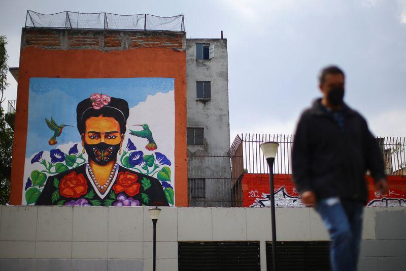 © Reuters. Brote del coronavirus en Ciudad de México
