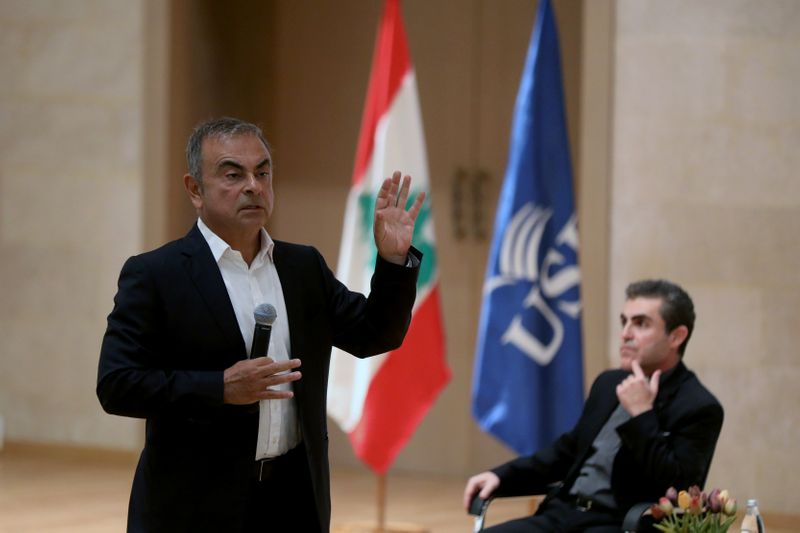 © Reuters. Carlos Ghosn to unveil ambitions plan to help Lebanon economy