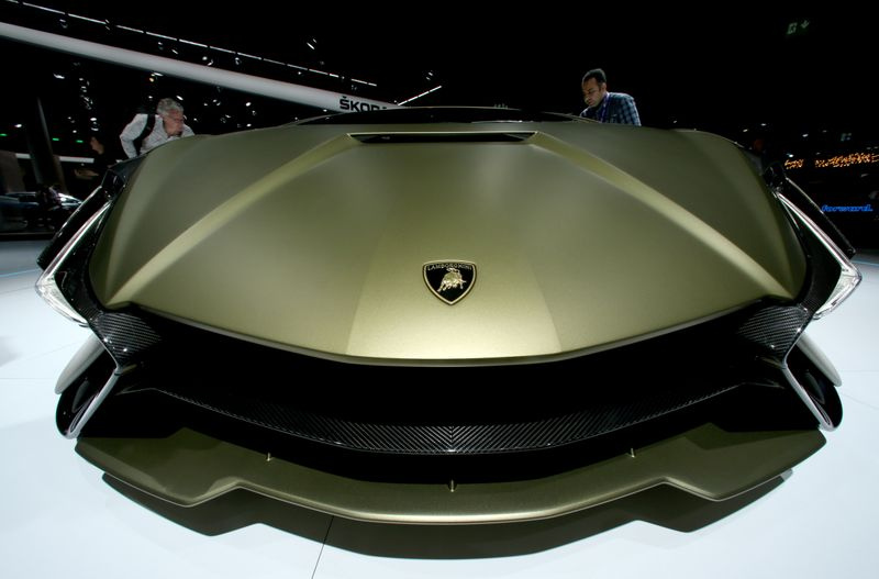 © Reuters. Frankfurt hosts the international Motor Show