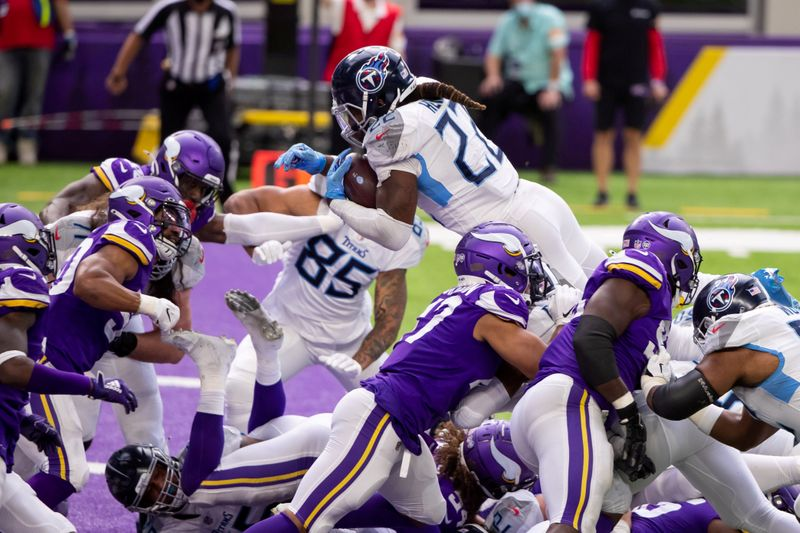 © Reuters. FILE PHOTO: NFL: Tennessee Titans at Minnesota Vikings