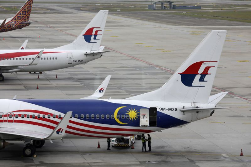 © Reuters. MALAYSIA AIRLINES À COURT DE LIQUIDITÉS, SELON SA SOCIÉTÉ MÈRE