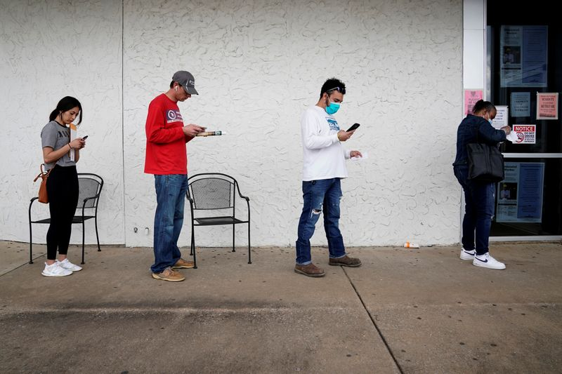 © Reuters. The spread of the coronavirus disease (COVID-19), in Fayetteville