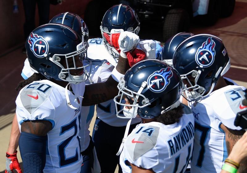 © Reuters. NFL: Jacksonville Jaguars at Tennessee Titans