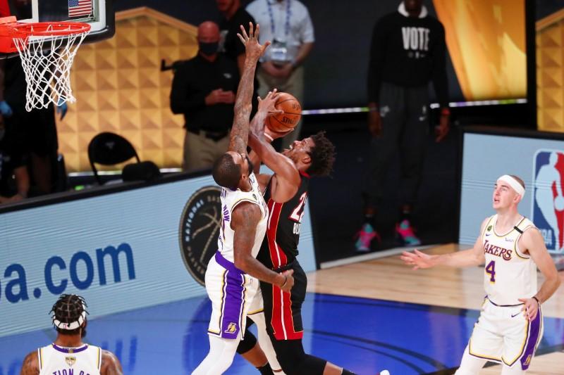 © Reuters. NBA: Finals-Los Angeles Lakers at Miami Heat