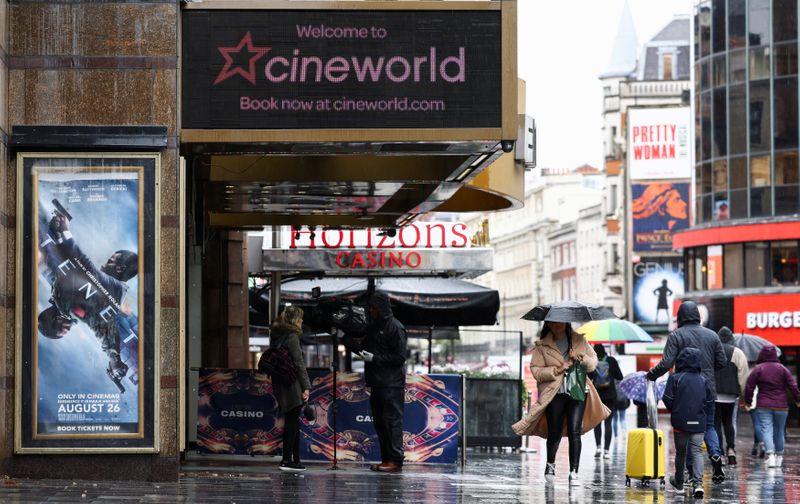 Cineworld brings down curtain on U.S., UK theatres; 45,000 jobs hit