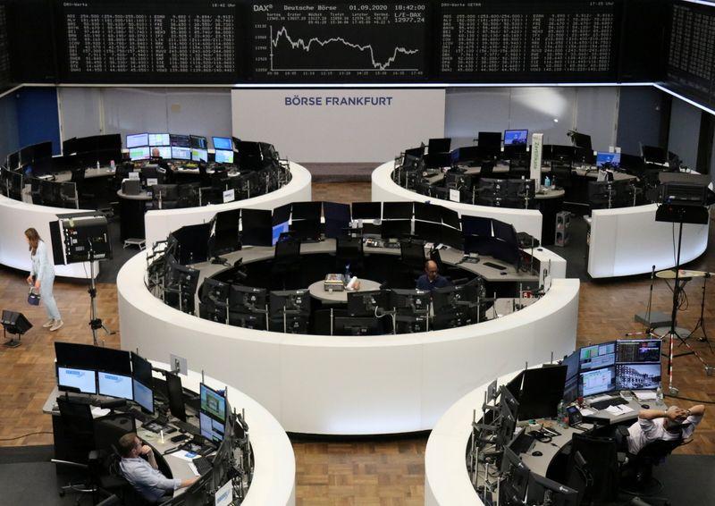 Fraqueza dos setores de saúde e tecnologia pressiona ações europeias
