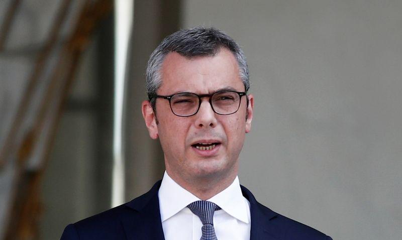 © Reuters. LE GOUVERNEMENT DÉMENT TOUTE PRESSION LORS DU VOTE D'ENGIE SUR SUEZ