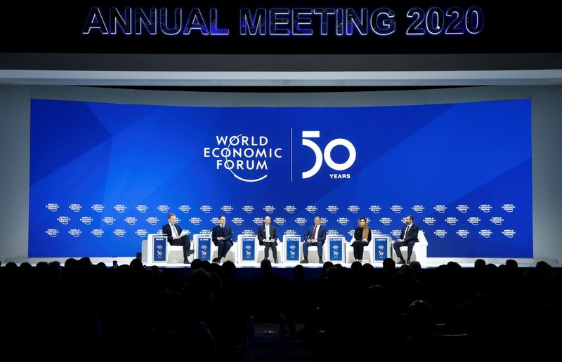© Reuters. L'ÉDITION 2021 DU FORUM ÉCONOMIQUE MONDIAL AURA LIEU À LUCERNE